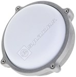 Timeguard LEDBHR7W Slim Die Cast 7W LED Round Bulkhead Floodlight