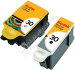 Genuine Combo Pack 30B Black & 30C Colour Ink Cartridge