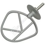 Kitchen Machine Chef Aluminium K Beater - New Circlip Shaft