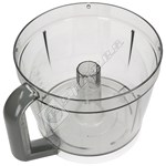 Grey Handled Food Processor Bowl