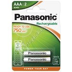 AAA Rechargeable NI-MH Batteries 750mAh