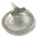 Food Processor Goblet Blade Assembly (White)