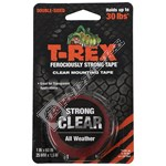T-Rex 1.5m Strong Mounting Tape - Clear