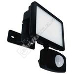 Eterna 10W LED PIR Floodlight - Black