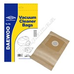 BAG170 Compatible Daewoo Vacuum Cleaner  VCB300 Dust Bags - Pack of 5