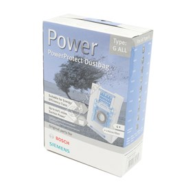 Bosch Type G All Vacuum Cleaner Power Protect Dustbags - ES1201936