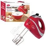 Quest 35820 Professional Hand Mixer - Red