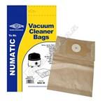 BAG50 Numatic NVM-1CH Vacuum Dust Bags - Pack of 5