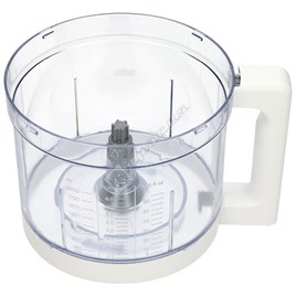 Food Processor Bowl - White - ES1780081