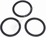 Food Processor Mill Jar Sealing Rings - Pack of 3