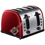 Russell Hobbs 21301 Legacy Metallic 4 Slice Toaster