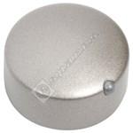 Silver Cooker Control Knob