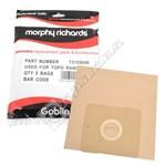 Paper Vacuum Bags - Pack of 5