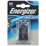 Energizer Ultimate Lithium Battery - 9 Volts
