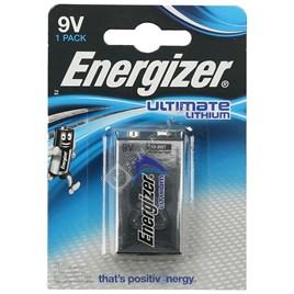 Energizer Ultimate Lithium Battery - 9 Volts - ES1751173