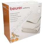 Beurer HD75 Cosy White Heated Throw / Overblanket