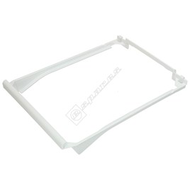 Bosch Upper Fridge Meat & Cheese Drawer Frame - White for KIE3040IE/03 - ES741976