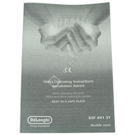 Instruction Booklet - ES1598056