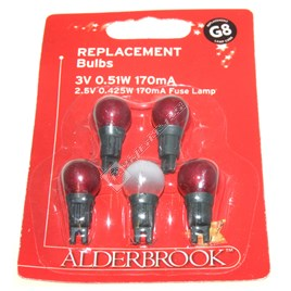 christmas lights g8 replacement red berry lamps es1638812