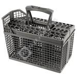 Dark Grey Dishwasher Cutlery Basket