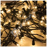 100 LED Warm White Berry Chaser Lights