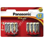 Panasonic AA Pro Power Alkaline Batteries