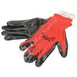 Rolson Nitrile Coated Work Gloves - Medium