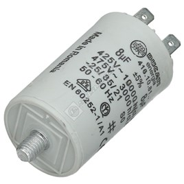 Tumble Dryer Capacitor - 8UF for AWF795 (851979504100) - ES1020484