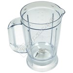 Food Processor Goblet Assembly (White)
