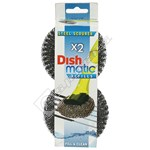 Dishmatique Replacement Steel Scourer Heads