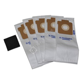 ES17 Vacuum Cleaner Synthetic Bag and Filter Pack - ES1606059