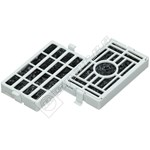 Fridge Microban Anti-Bacterial Filter Kit (Pack of 2)