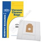 Electruepart BAG294 Morphy Richards Synthetic Vacuum Dust Bags (Type 70) - Pack of 5
