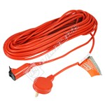 Flymo 15 Metre Replacement Power Cable with Plug