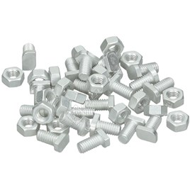 Cropped Head Bolts & Nuts - ES209092