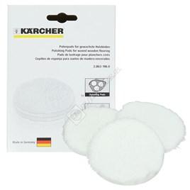 Karcher Floor Polisher Waxed Parquet Polishing Pads - ES1755175