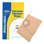 Electruepart BAG57 Moulinex B45030 Vacuum Dust Bags - Pack of 5