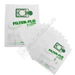 Numatic (Henry) NVM-1CH Vacuum Filter-Flo Bag - Pack of 10