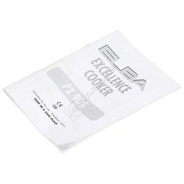 Instruction Book PX906 - ES1581218