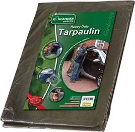 Kingfisher Heavy Duty Tarpaulin - ES1563368