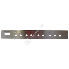 Cooker Control Panel Fascia - ES1581215