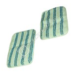 Steam Cleaner Hoover Textile Mop Pads Pack of 2 for s2in1300c