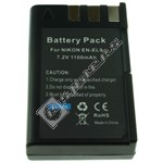 Compatible Nikon Li-Ion Digital Camera Battery