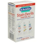 Dr. Beckmann Stain Devils Survival Kit,EVERY HOME SHOULD HAVE ONE!