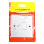 Wellco White Switched Fused Connection Unit - Pack of 5