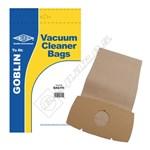 Electruepart BAG18 Goblin Vacuum Dust Bags (Type 76) - Pack of 5