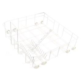 Miele Lower Dishwasher Basket Assembly Including Wheels - ES1582790