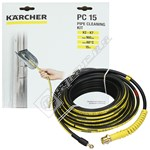 K2-K7 Drain Pipe Cleaning Hose - 15m