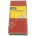 Rolson 50 Piece 93mm x 230mm Sanding Sheets