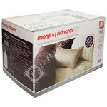 Morphy Richards 620012 Double Dual Washable Fleece Heated Mattress Cover